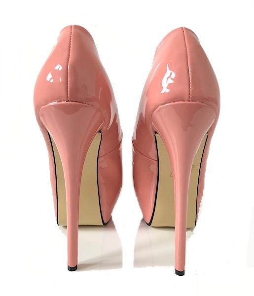 Pale Pink High Heels